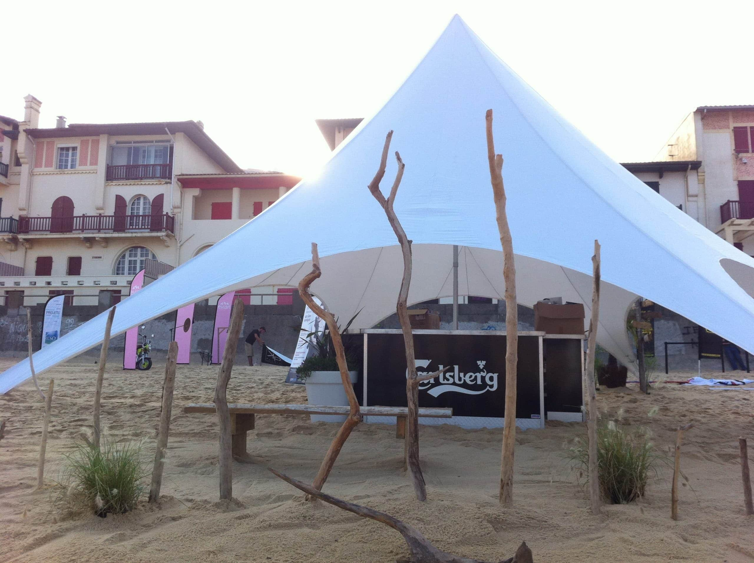 Beach Party tent