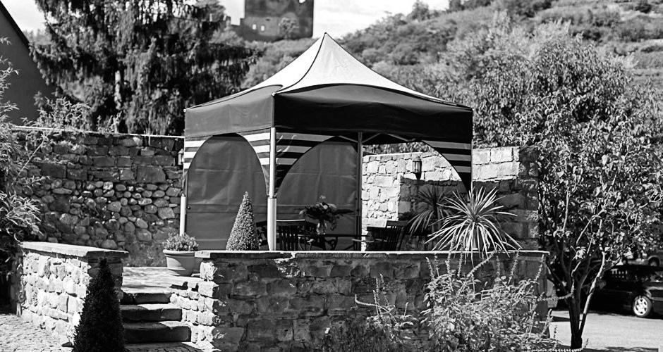 Convivialité sous la tente